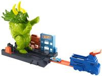 Pista Hot Wheels Ataque Triceratops Desafios