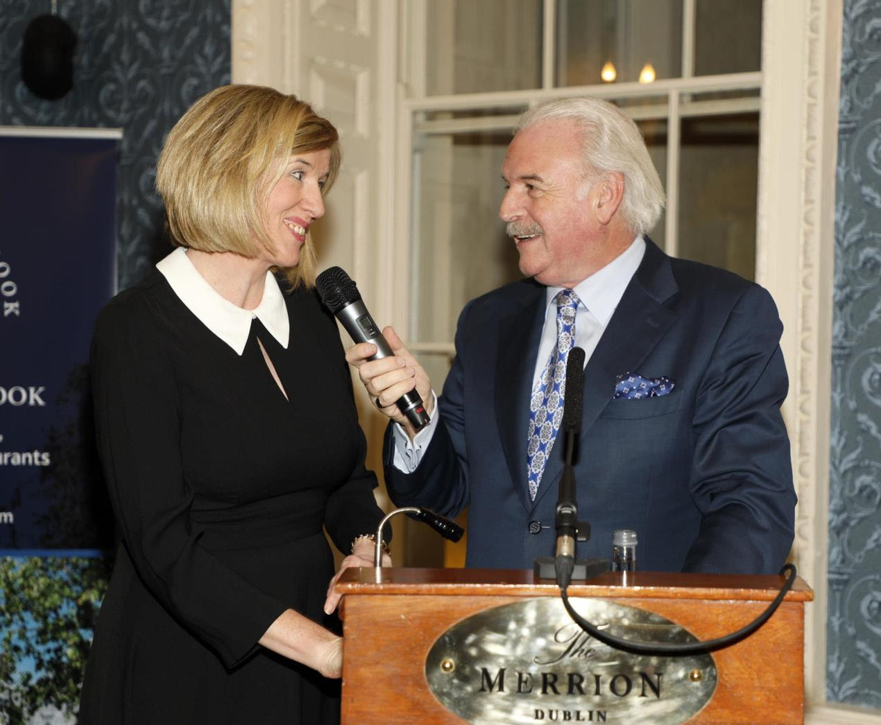 Emer Corridan, General Manager of Cahernane House and Marty Whelan