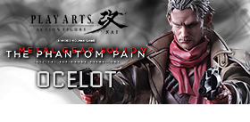 Metal Gear Solid V The Phantom Pain: Play Arts Kai - Ocelot