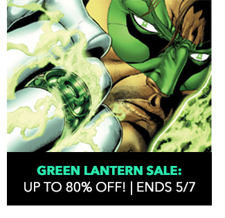 Green Lantern Sale: up to 80% off! Sale ends 5/7.
