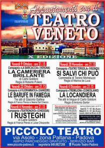 Appuntamenti con il Teatro Veneto 2015