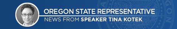 ouse Speaker Tina Kotek