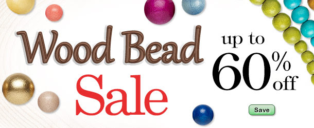 Shop Wood Bead Sale - Up to 60% Off