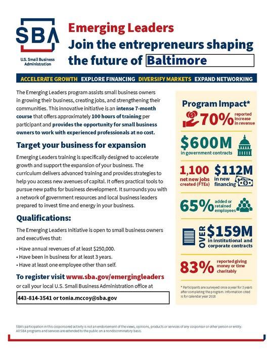 Baltimore Emerging Leaders 2021