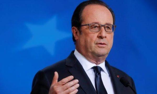 Ολάντ: Η Γαλλία δεν μπορεί να εγγυηθεί μόνη της την ευρωπαϊκή άμυνα
