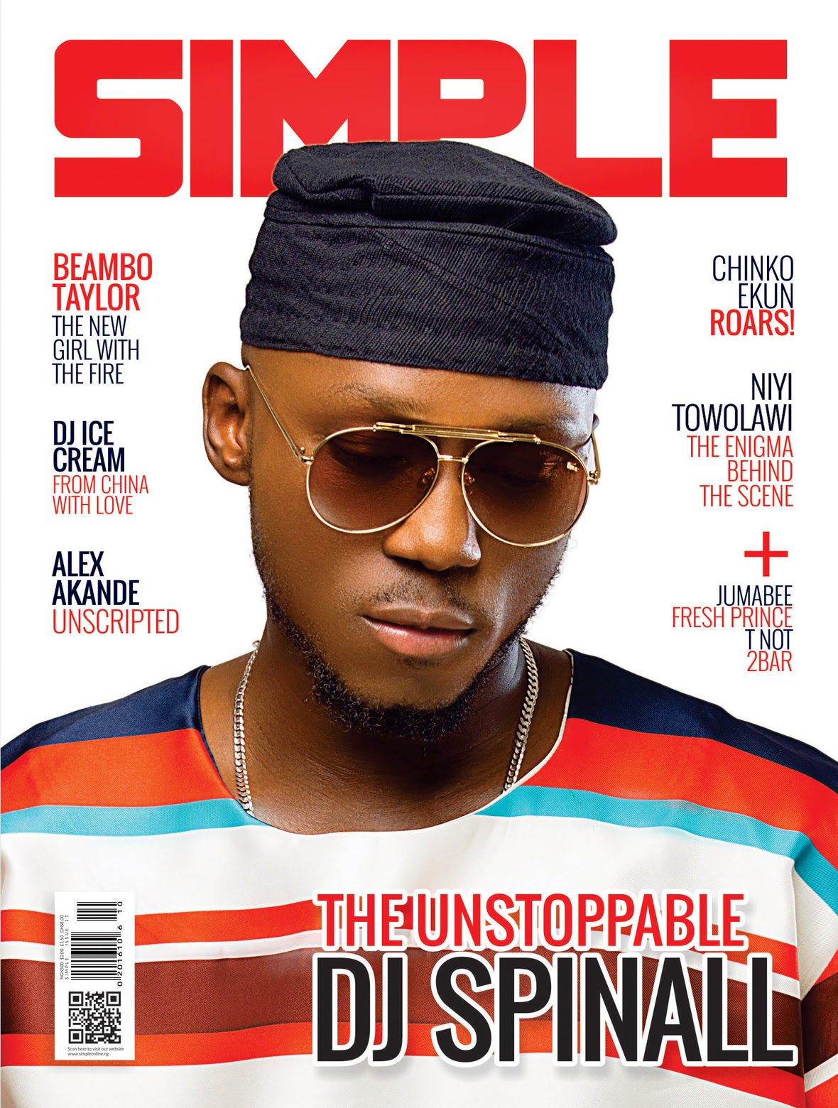 %name DJ SPINALL FOR SIMPLE MAGAZINE