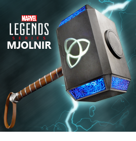 MARVEL LEGENDS MJOLNIR REPLICA