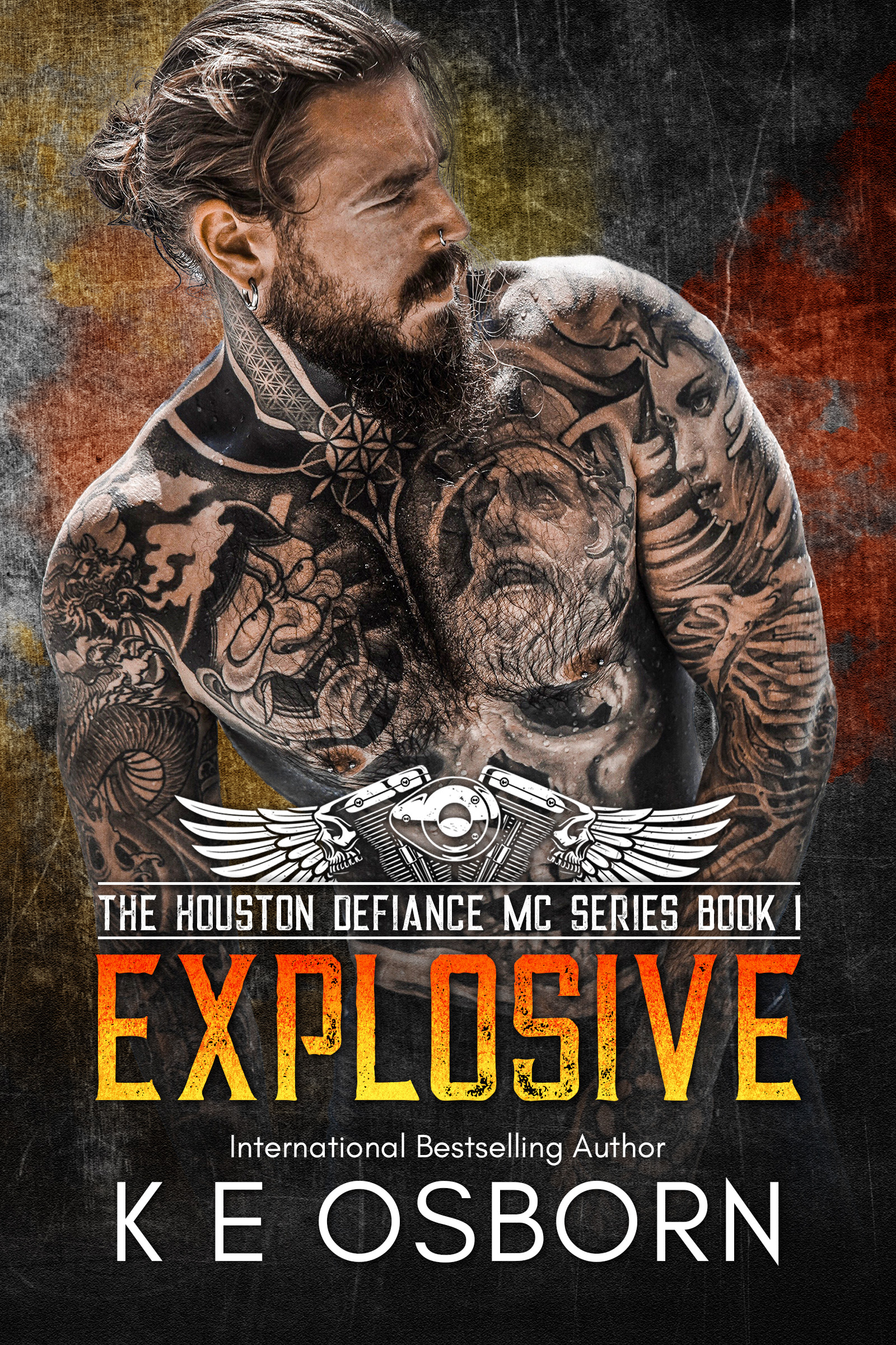 Cover for 'Explosive (The Houston Defiance MC Series Book 1)'