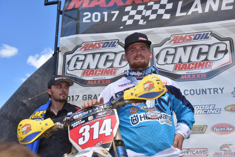 Grant Baylor was awarded the overall win - marking his first career overall victory.