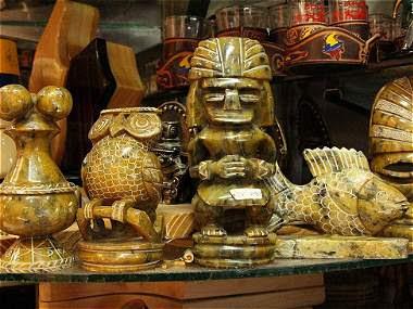 Las piezas arqueológicas falsas que se venden en Bogotá