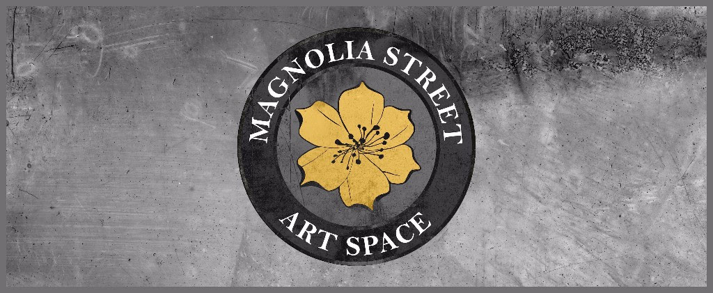 magnolia street art space logo and banner