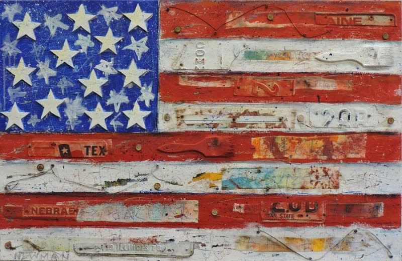 Flag Series by Dave Newman