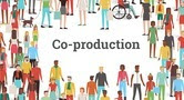 A stylised image with the words Coproduction Week