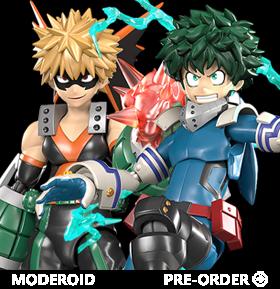 My Hero Academia Moderoid Izuku & Katsuki