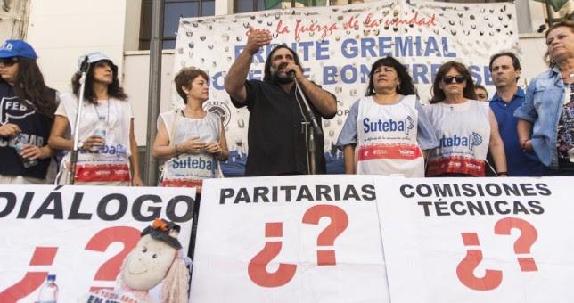 """""""Si Vidal no reabre paritarias no se iniciarán las clases en 2017"""""""