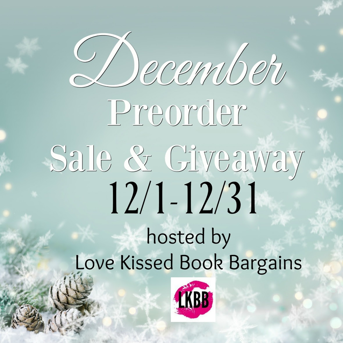 December Preorder Sale   Giveaway