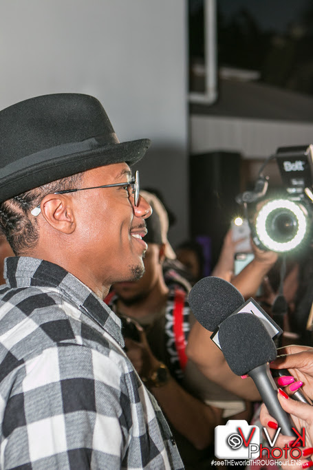 Nick Cannon Press Frenzy