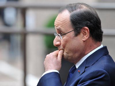 El presidente francés François Hollande.- AFP