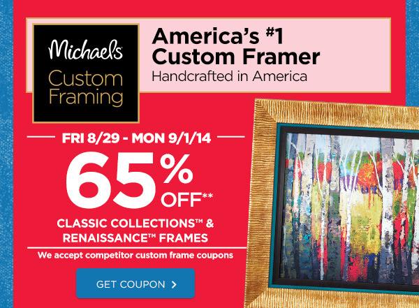 America's 1 custom framer. Get Coupon