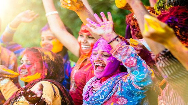 Image result for Hosting Holi party with dupaatta