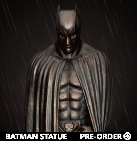 The Dark Knight Rises Master Craft MC-021 The Dark Knight Memorial Statue
