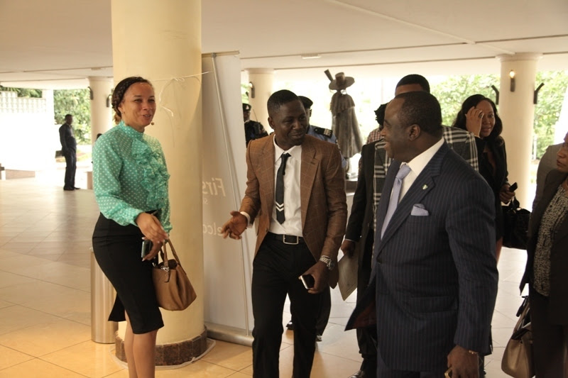 Ibinabo Fiberesima  Cally Ikpe and DG of NAFDAC  Paul Orhii