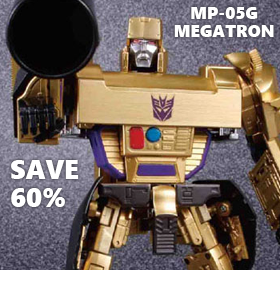 TRANSFORMERS MASTERPIECE MP-05G MEGATRON - SAVE 60%