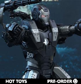 Iron Man 2 MMS331D13 War Machine 1/6th Scale Collectible Figure (Reissue)