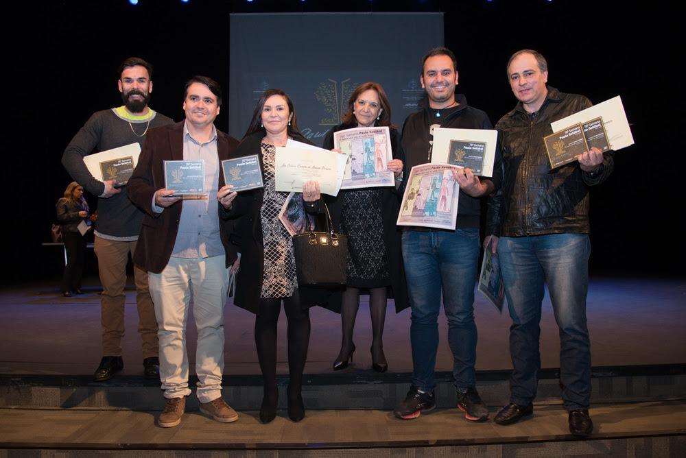 Os vencedores do concurso Paulo Setúbal 2018
