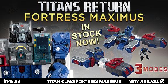 TITANS RETURN TITAN CLASS FORTRESS MAXIMUS