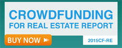 Order the 2015CF Crowdfunding for Real Estate Report