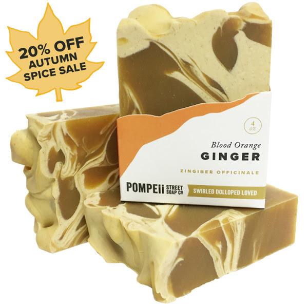Blood Orange & Ginger Soap