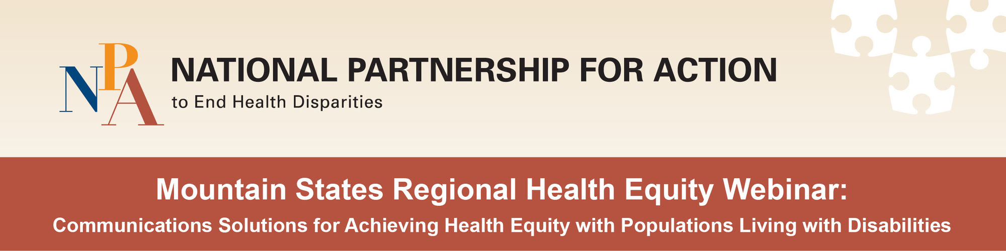 Mountain States RHEC Health Equity Webinar: Accessible Communications