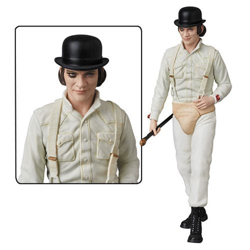Image of A Clockwork Orange Alex Ultra Detailed Face Mini-Figure