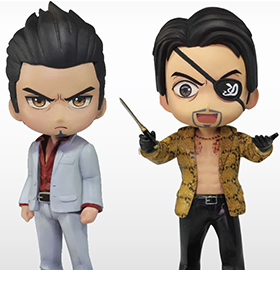 Yakuza QBitz Kiryu and Goro