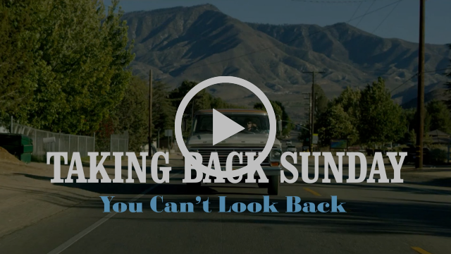 Taking Back Sunday - You Can't Look Back (Official Music Video)