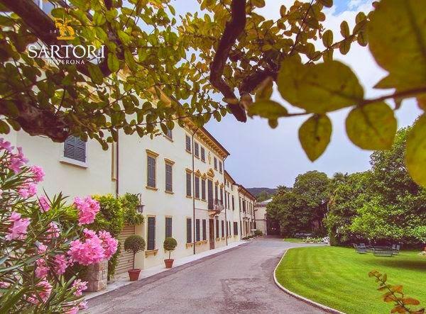 Sartori Winery and grounds in Verona, Italy