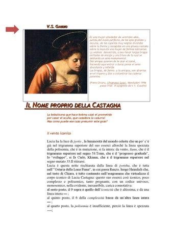 │Il nome proprio della Castagna│