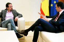 Los integrantes de Unidas Podemos pactaron pedir el cara a cara de Sánchez e Iglesias como último intento para la coalición