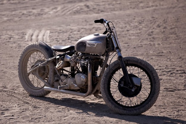 Triumph hardtail motorcycle by Eastside
