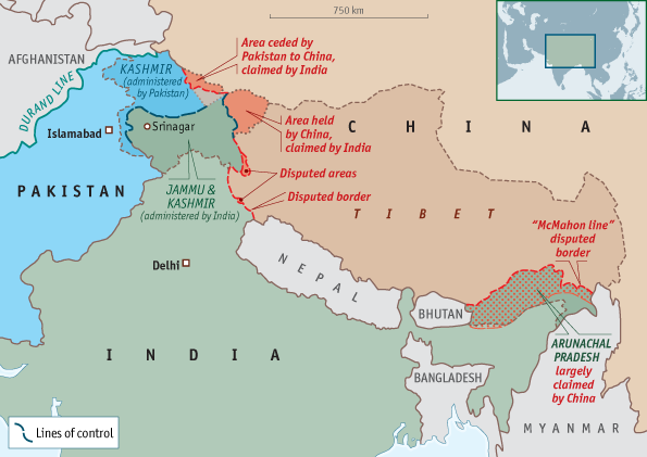 South Asia map A05