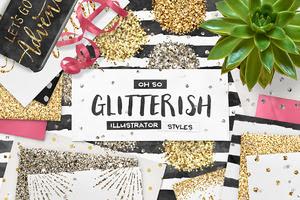 20%Off! 100 Glitter AI Styles!