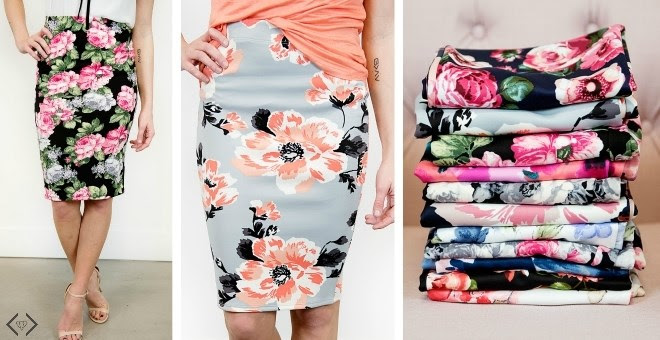 Floral Pencil Skirts!!