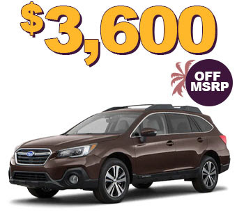 2019 OUTBACK 3.6R LIMITED $3600 OFF MSRP
