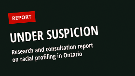 Under Suspicion Report screenshot