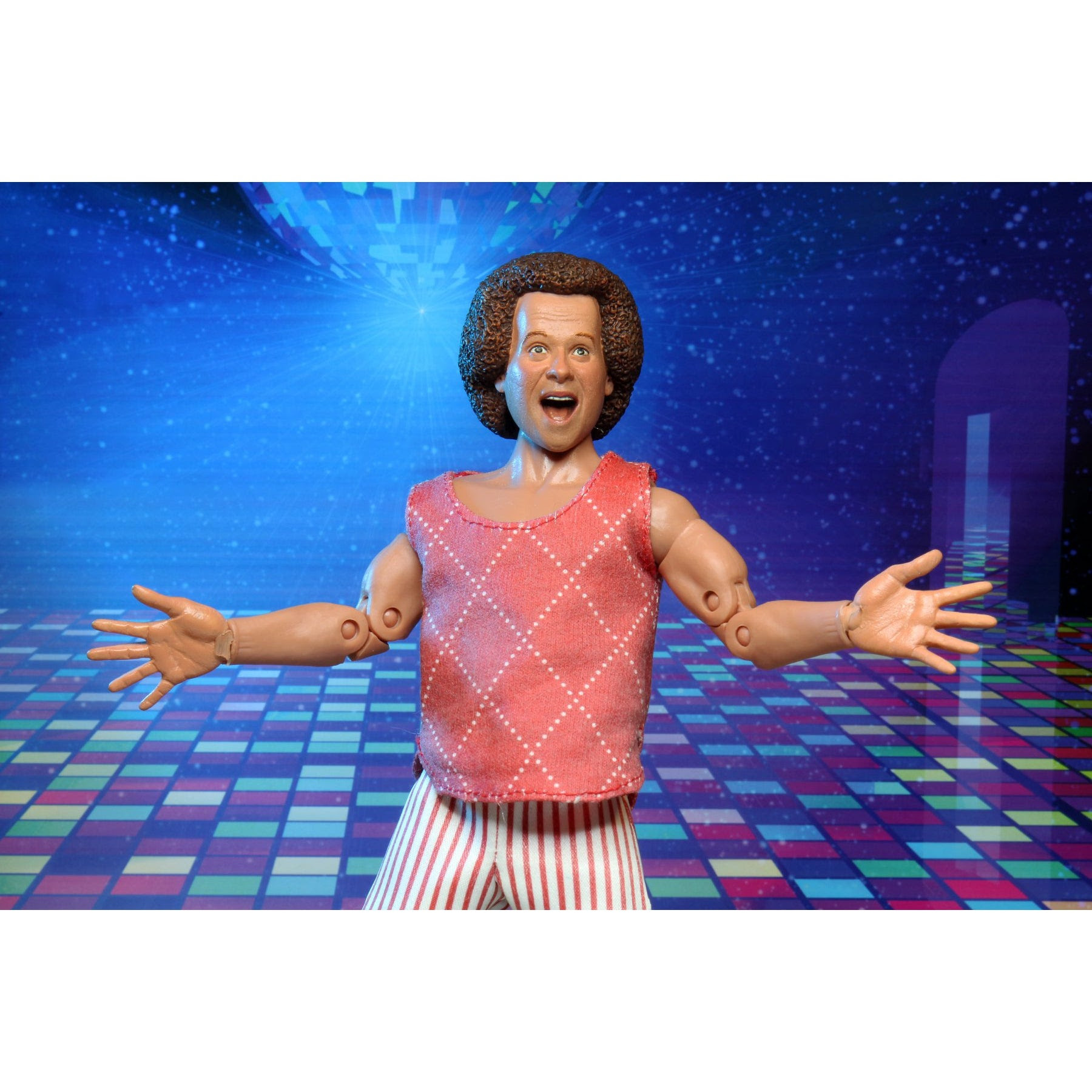 """Image of Richard Simmons 8"""" Action Figure - SEPTEMBER 2020"""