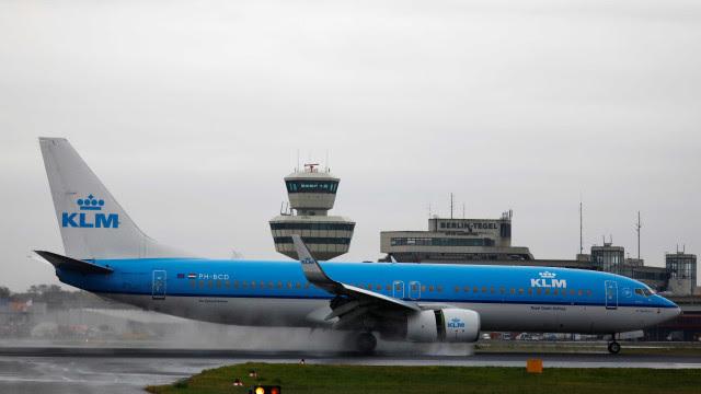 KLM volta a transportar passageiros do Brasil para a Holanda