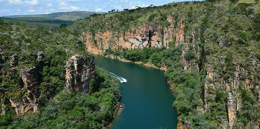 Canyons de Capitólio MG - com São Lourenço