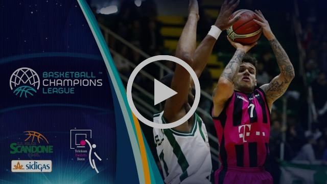 Sidigas Avellino v Telekom Baskets Bonn - Highlights - Basketball Champions League