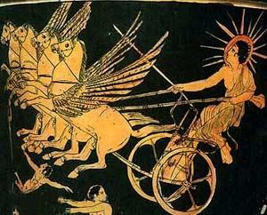 Pagan Sun God Roman festival
